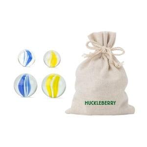 Huckleberry 24 db-os üveggolyó készlet - Kikkerland