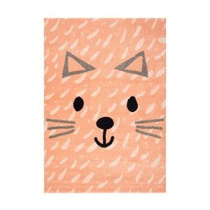 Gyerek szőnyeg cica motívummal, 170 x 120 cm - Hanse Home