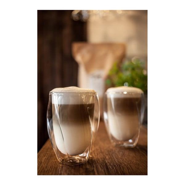 Latte 2 db duplafalú pohár, 300 ml - Vialli Design