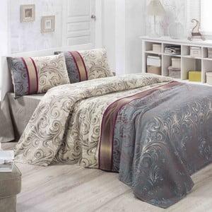 Hurrem könnyű kétszemélyes pamut ágytakaró, 200 x 230 cm