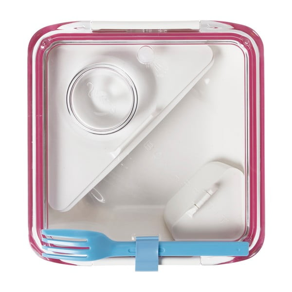 Apetit rózsaszín ételhordó doboz, 880 ml - Black + Blum