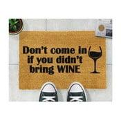 Without Wine lábtörlő, 40 x 60 cm - Artsy Doormats