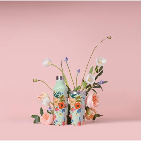 Tumbler Floral rozsdamentes acél utazó bögre, 470ml - Corkcicle