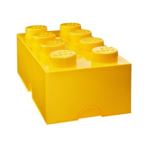 Sötétsárga tárolódoboz - LEGO®