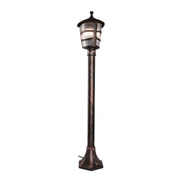 Lisa bronzszínű kültéri világítás, magassága 92 cm