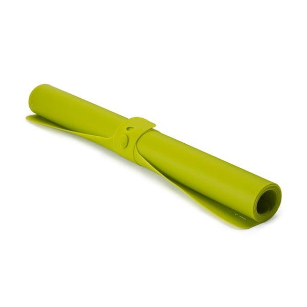 Roll up zöld szilikon nyújtólap, hossz 74 cm - Joseph Joseph