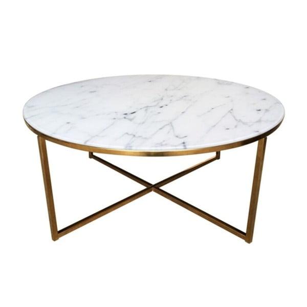 Alisma Golden dohányzóasztal, ⌀ 80 cm - Actona