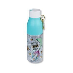 Kék palack karabinerrel, 750 ml - Tri-Coastal