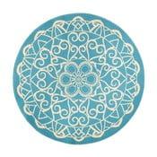 Capri kék kerek szőnyeg, ø 140 cm - Zala Living