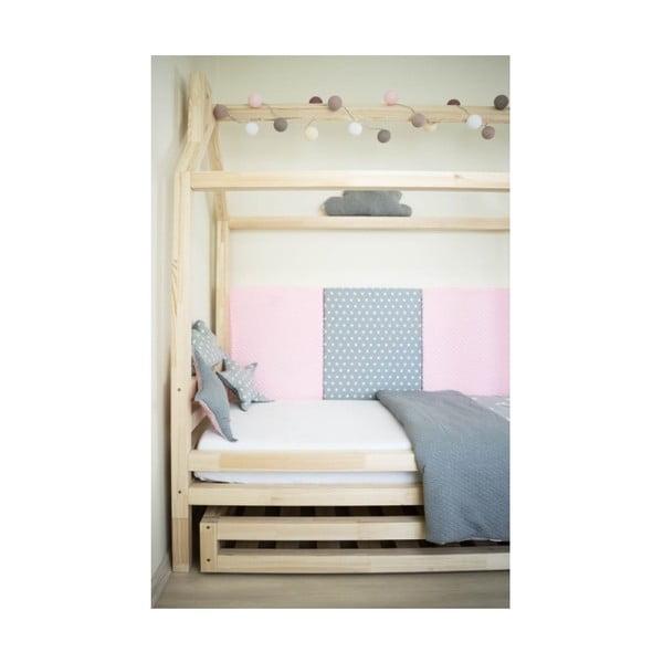 Happy lakkozott fenyő gyerekágy, 90 x 180 cm - Benlemi