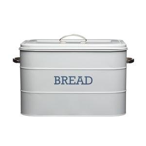 Nostalgia szürke fém kenyértartó - Kitchen Craft