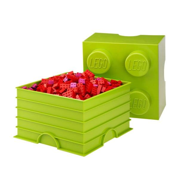 Lime-zöld tároló doboz 4 - LEGO®