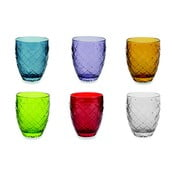 Acqua 6 db színes pohár, 350ml - Villa d'Este
