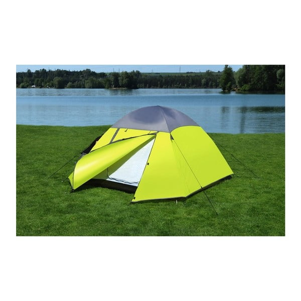 Trent duplafalú kétszemélyes sárga sátor - Cattara