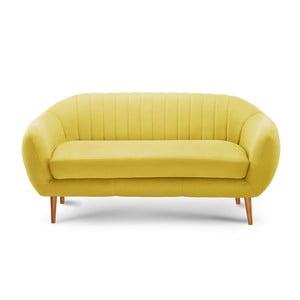 Comete sárga háromszemélyes kanapé - Scandi by Stella Cadente Maison