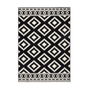 Gloria Ethno fekete szőnyeg, 160 x 230 cm - Hanse Home