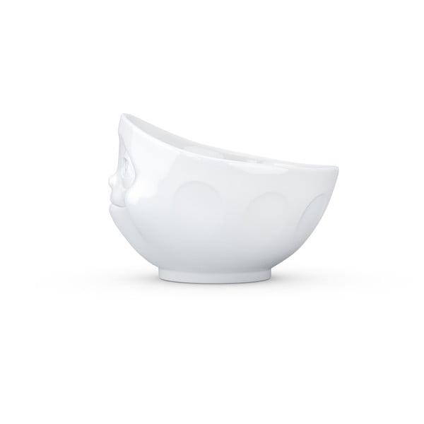 Fehér 'szerelmes' porcelán tálka - 58products