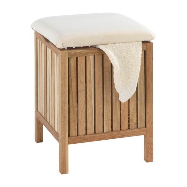 Norway diófa, fürdőszobai ülőke tárolóhellyel - Wenko