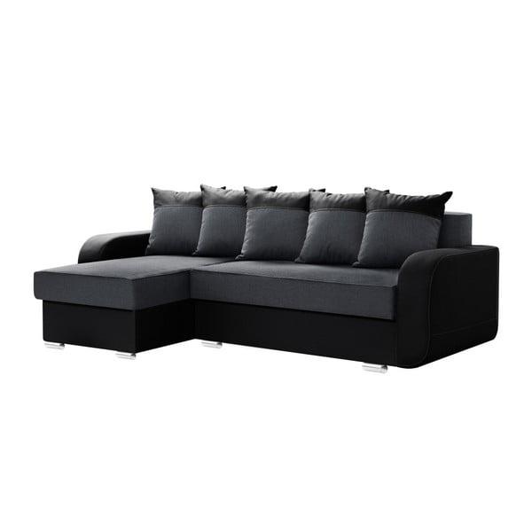 Destin szürke-fekete kanapé, bal oldali - Interieur De Famille Paris