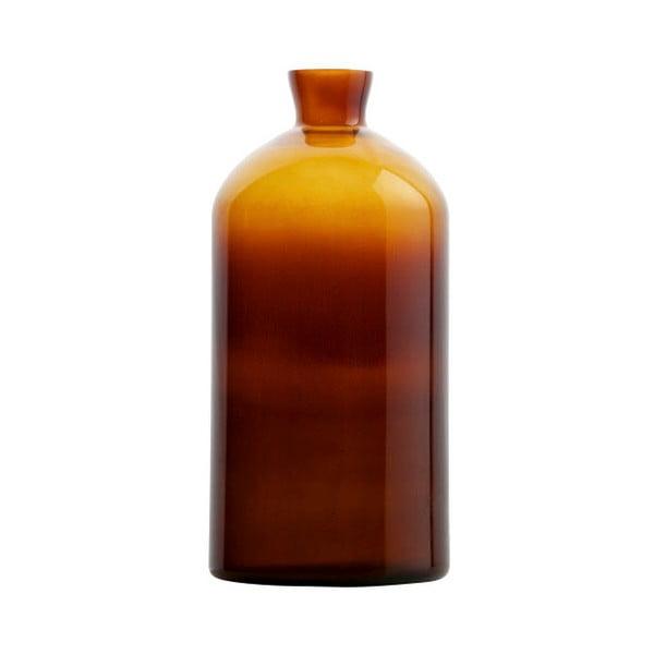 Chemistry sötét narancssárga üvegváza, magasság 40 cm - BePureHome