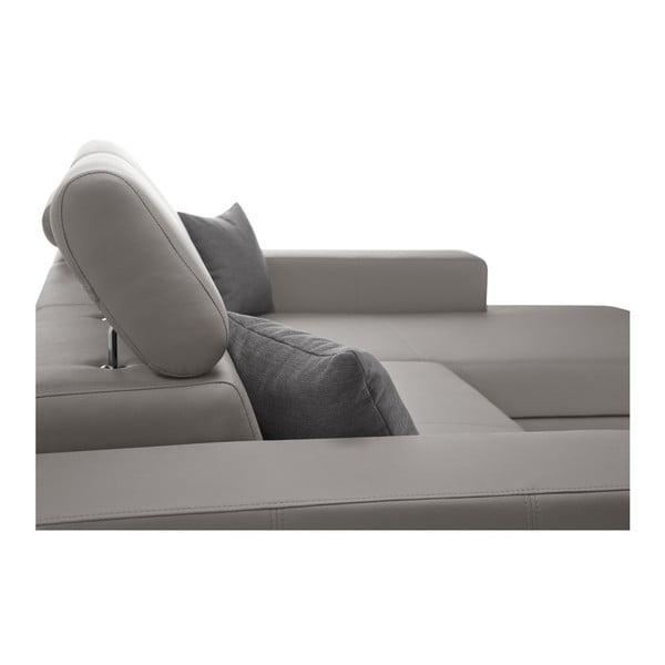 Tresor szürkésbarna kanapé, jobb oldalas - Interieur De Famille Paris