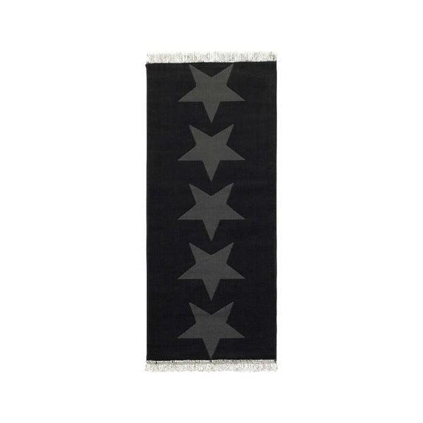 Stars szürke szőnyeg, 80 x 200 cm - Hanse Home