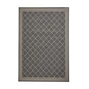 Cottage homokszínű/antracitszürke szőnyeg, 120 x 170 cm - Think Rugs