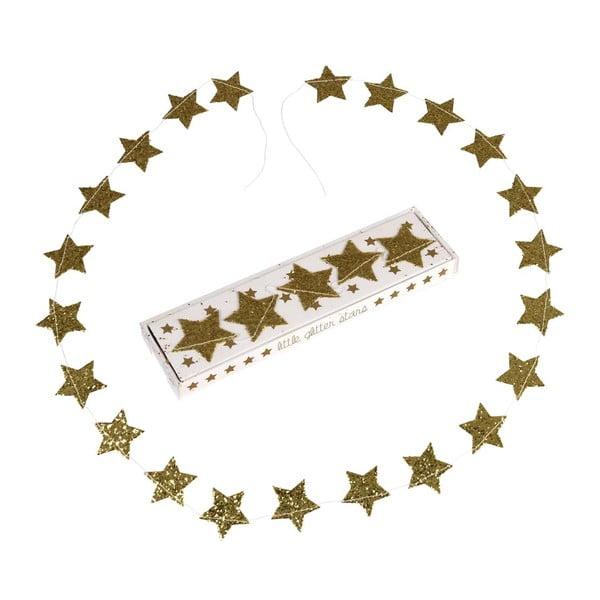 Gold Stars karácsonyi girland - Rex London