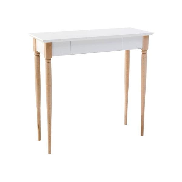 Mamo fehér íróasztal, szélesség 65 cm - Ragaba