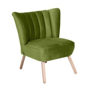 Alessandro Suede zöld fotel - Max Winzer