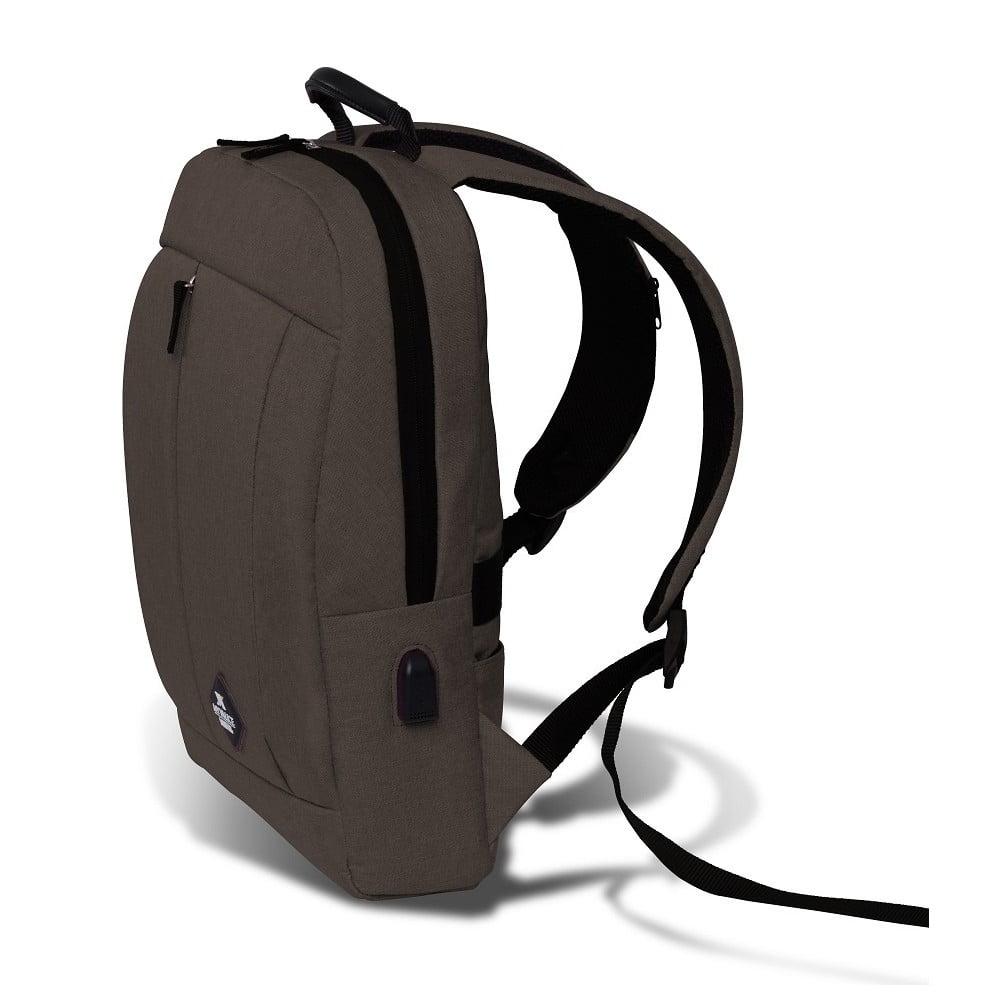 ... GALAXY Smart Bag sötétbarna hátizsák USB csatlakozóval - My Valice ... 7e99e8332e