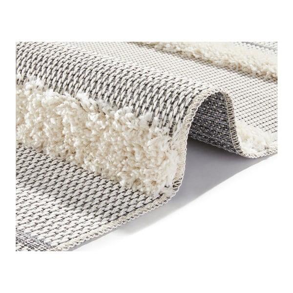 Handira Stripes szürke szőnyeg, 230 x 155cm - Mint Rugs