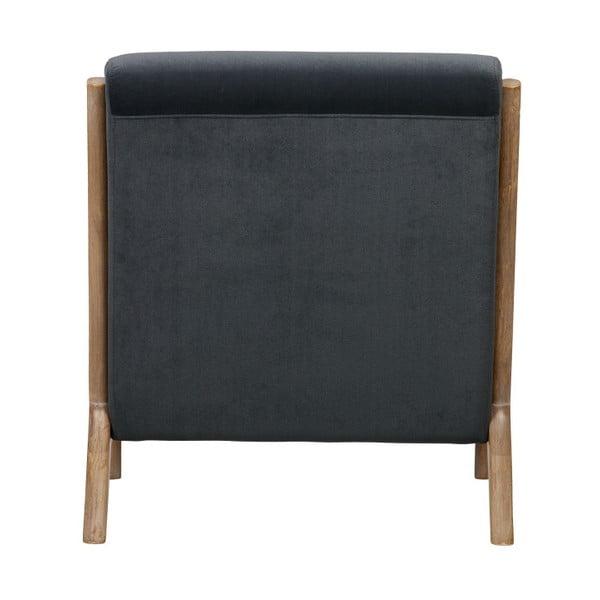 Mark fekete fotel - WOOOD