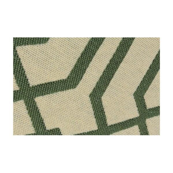 Ya Rugs Kenar zöld szőnyeg, 80 x 150 cm
