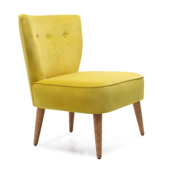 Home Molly sárga kárpitozott szék - Balcab