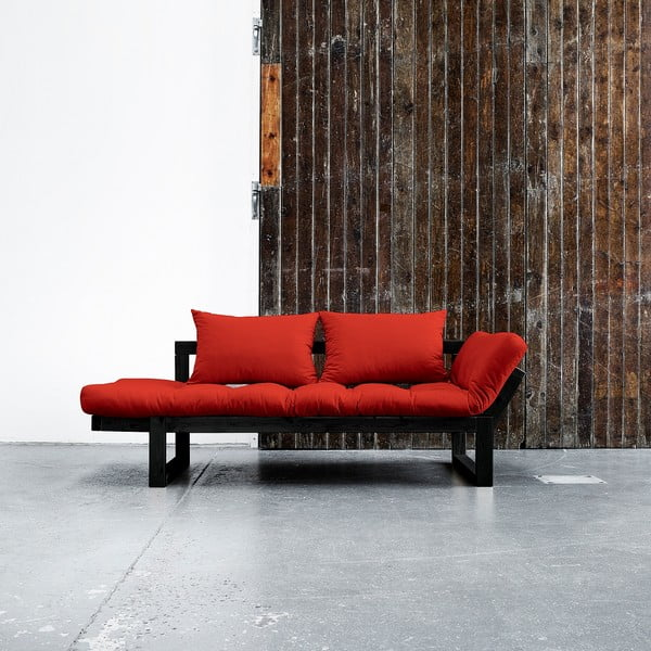 Edge Black/Red kanapé - Karup