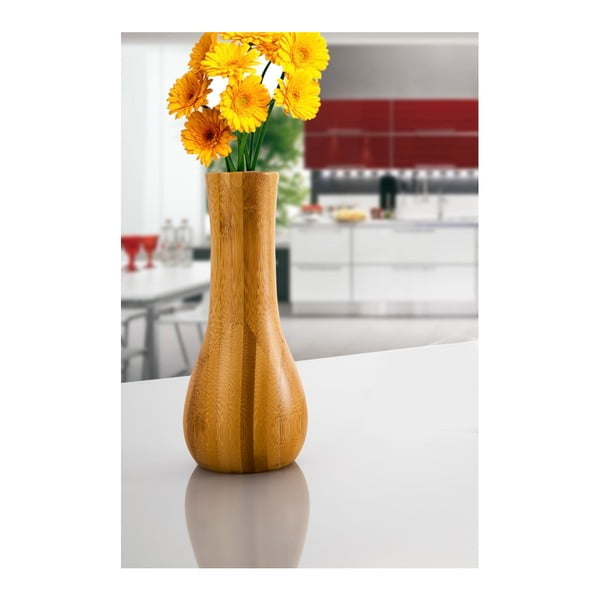 Lotus bambusz váza, magassága 13 cm - Bambum
