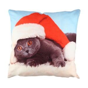 Christmas Cat párna, 43 x 43 cm