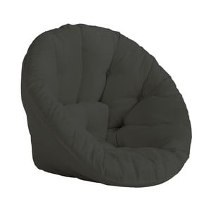 Design OUT™ Nido Dark Grey kinyitható sötétszürke fotel, kültéri használatra - Karup Design