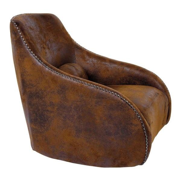 Ritmo barna fotel - Kare Design