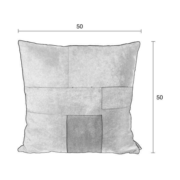 Ridge mintás díszpárna, 50 x 50 cm - Zuiver