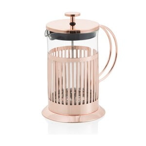 Rose Gold French press dugattyús tea és kávéfőző, 600 ml - Brandani