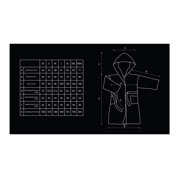 Sleepyhead lilásrózsaszín mikroszálas uniszex köntös, méret XL - DecoKing