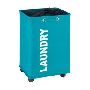 Quadro kék szennyestartó, 79,2 l - Wenko