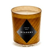 Libertine Spirit gyertya friss gyömbér és citromfű illattal, 60 óra égési idő - Meadows