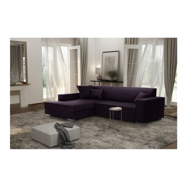 Perle szilvalila kanapé, bal oldal - Interieur De Famille Paris