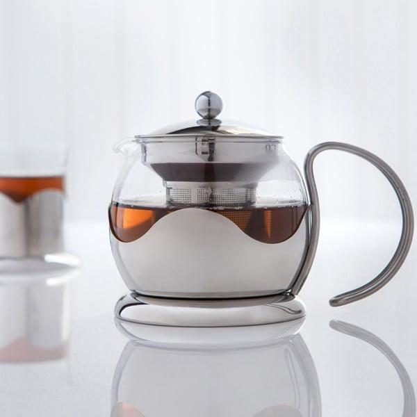 Infuser teáskanna szűrővel, 750 ml - Sabichi