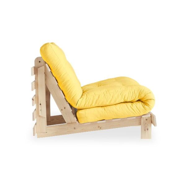 Roots Raw/Yellow variálható fotel - Karup Design