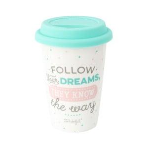 Follow kerámia úti pohár, 330 ml - Mr. Wonderful