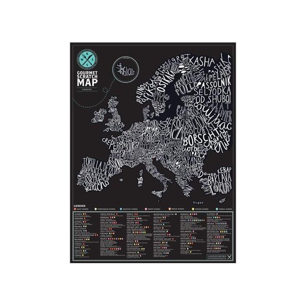Kaparós Európa térkép ínyenceknek - Luckies of London